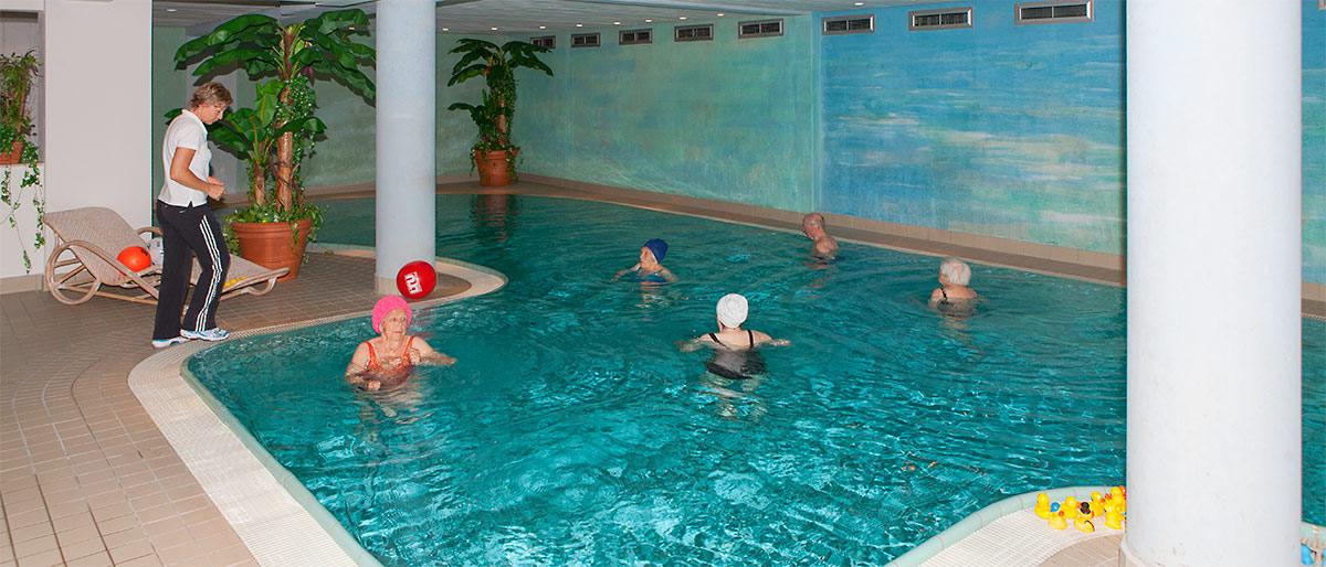 Schwimmbad - Stift am Klausberg